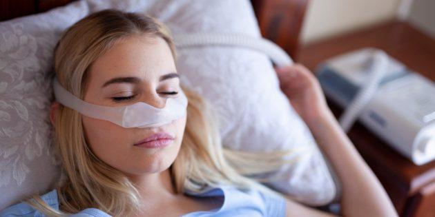 СИПАП для лечения апноэ во сне