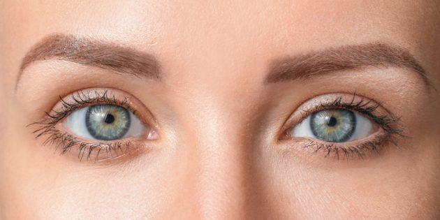 Как определить форму глаз: «опущенные» глаза