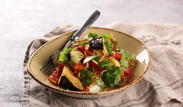 Оригинальный овощной салат «Лаззат»