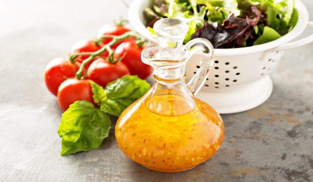 Итальянская заправка для салата