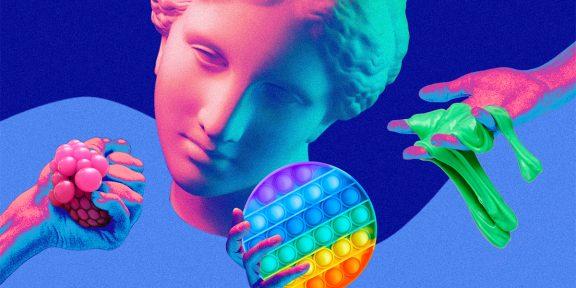 Йо-йо, слаймы, поп-иты: как менялись антистрессовые игрушки