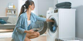 10 вещей, которые нельзя стирать в машинке