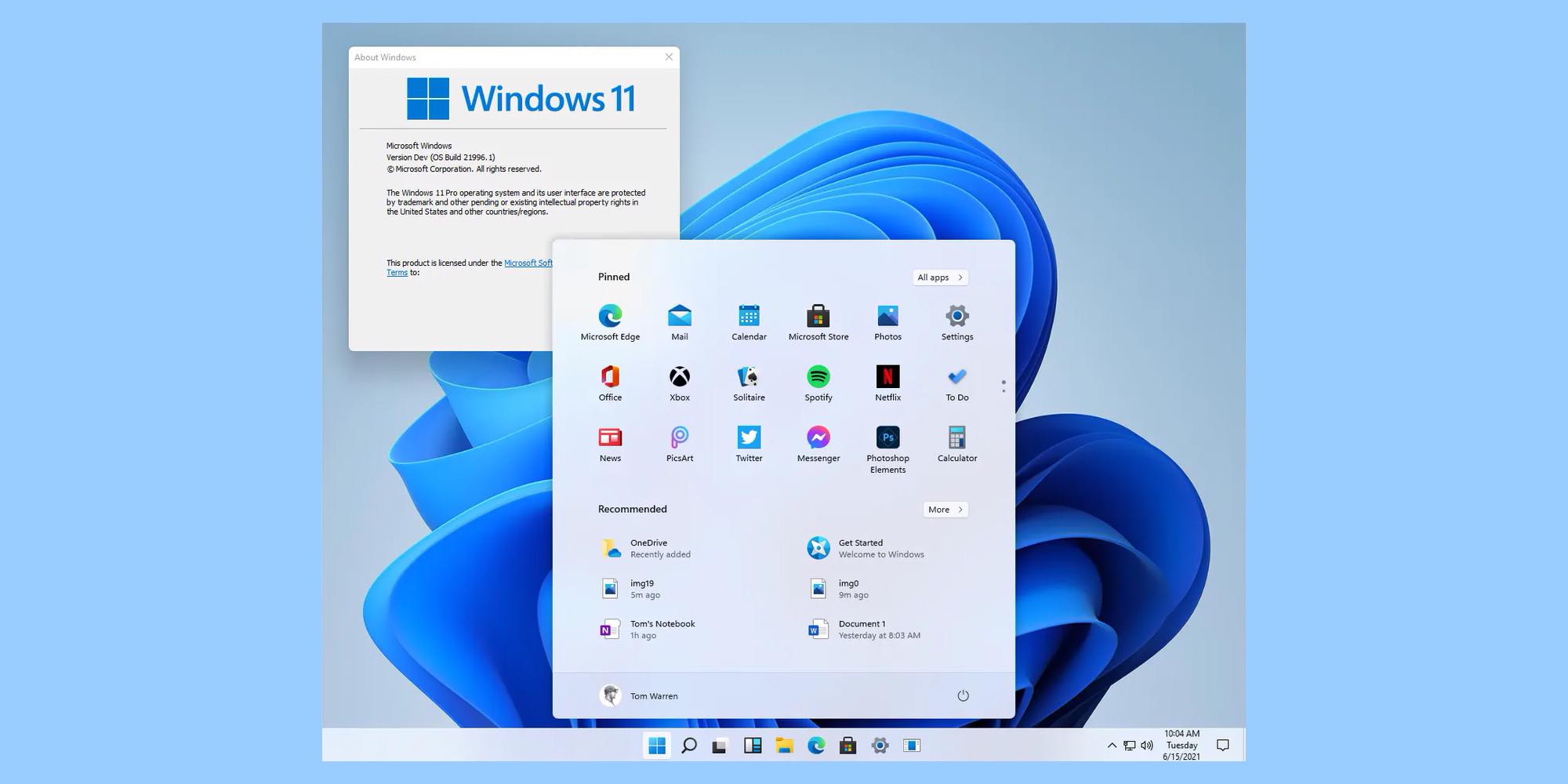 Windows 11 скриншоты