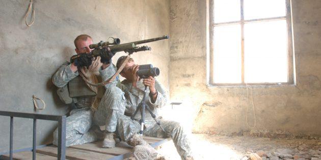 Снайперы редко работают в одиночку