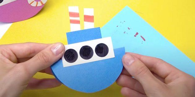 Как сделать кораблик из бумаги: смастерите трубы
