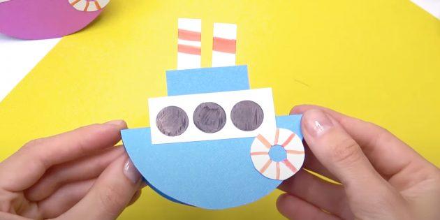 Как сделать кораблик из бумаги: сделайте спасательный круг