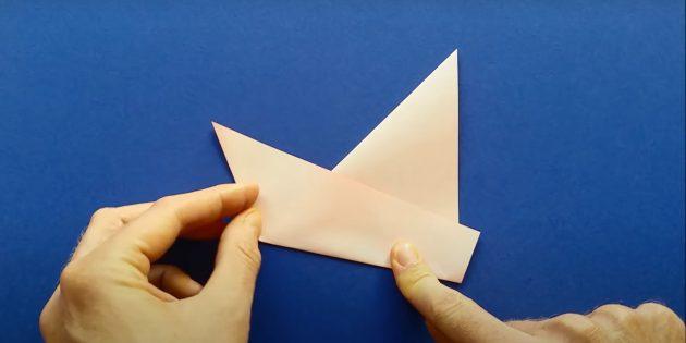 Как сделать кораблик из бумаги: сделайте борт