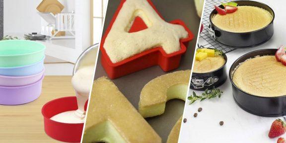 10 форм для выпечки с AliExpress, которые пригодятся на кухне