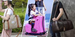 10 чемоданов и сумок с AliExpress для комфортных путешествий