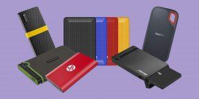 10 недорогих внешних жёстких дисков и SSD с AliExpress и из других магазинов