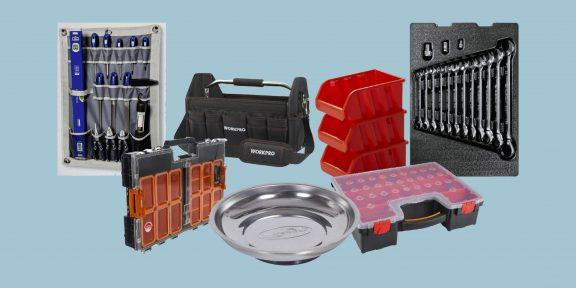 10 товаров, которые помогут организовать хранение инструментов