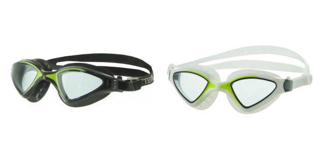 Товары для активного отдыха на воде: очки для плавания