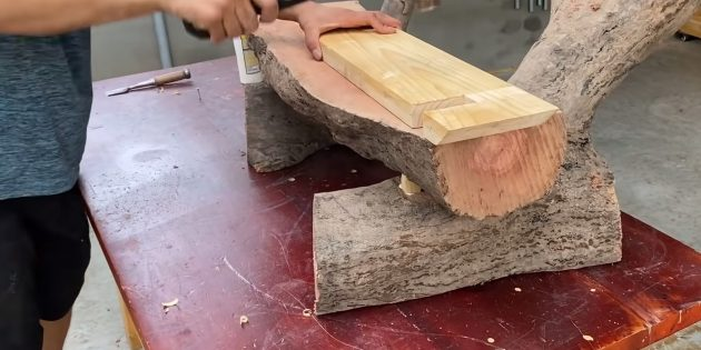 Как сделать скамейку своими руками: установите сиденье на место