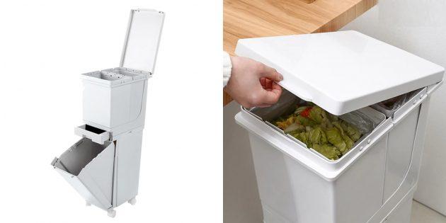Товары для сбора мусора: сортировочный бак