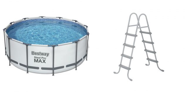 Товары для отдыха и развлечений на даче: бассейн