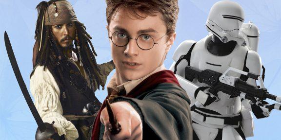 ТЕСТ: «Гарри Поттер» или «Звёздные войны» — в какой киновселенной вы будете блистать?