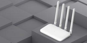 Выгодно: роутер Xiaomi Mi Router 4A за 958 рублей
