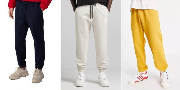 Модные мужские брюки — 2021: Брюки в домашнем стиле