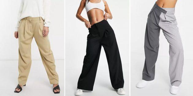 Модные женские брюки — 2021: Мешковатые модели