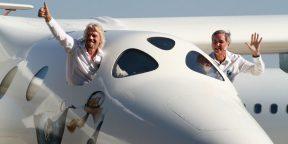 Ричард Брэнсон первым отправится в космос на корабле своей компании Virgin Galactic
