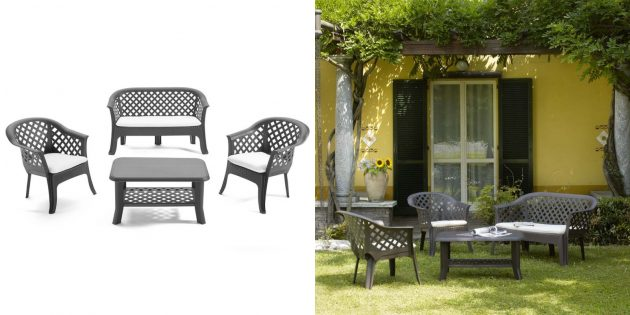 Товары для отдыха на даче: набор мебели