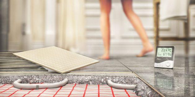 Современные технологии для дома: тёплый пол