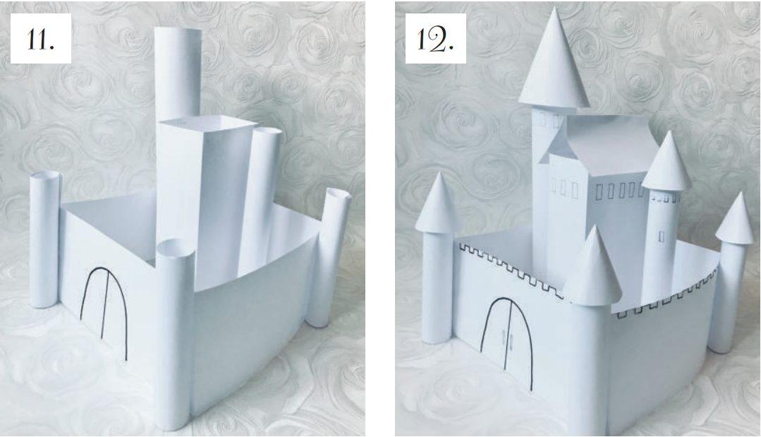 Искусство — детям: замок. Задание высокой сложности