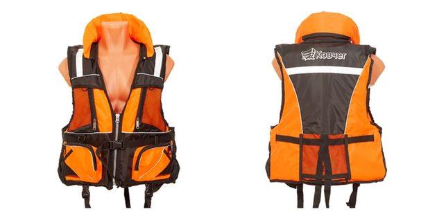 Товары для активного отдыха на воде: спасательный жилет