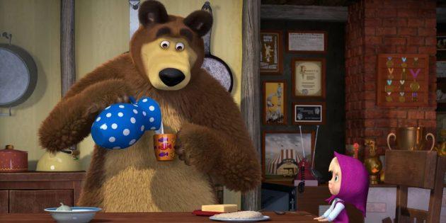 Лучшие российские мультфильмы: «Маша и Медведь»