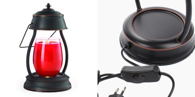 Ароматизаторы для уютной атмосферы дома: Электрический фонарь для ароматических свечей