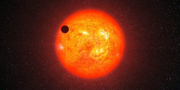 Можно ли погасить Солнце водой: планета Gliese 1214b