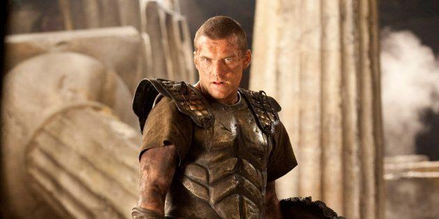 Кадр из фильма про Древнюю Грецию «Битва Титанов»
