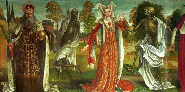 Как жили в Средневековье: на кладбищах было оживлённо