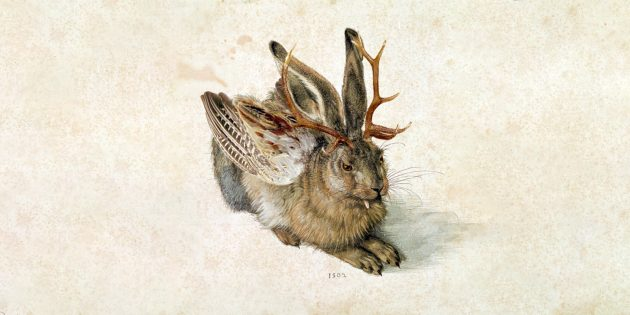 «Вольпертингер», коллаж на основе гравюры Альбрехта Дюрера