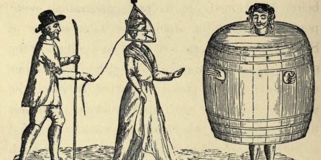 Сварливая женщина и пьяница