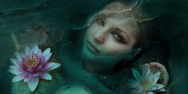 Мифические существа: русалка