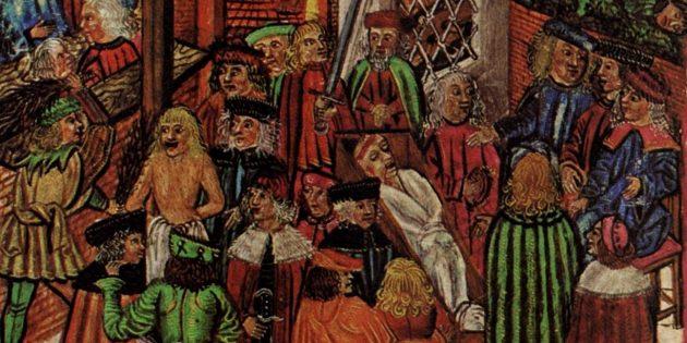 Как жили в Средневековье: правосудие было своеобразным