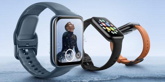 OPPO представила смарт-часы Watch 2 с eSIM и автономностью до 16 дней