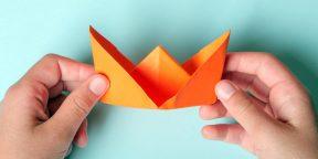 Как сделать кораблик из бумаги: 10 интересных способов