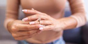 Как снять кольцо с опухшего пальца: 7 простых способов