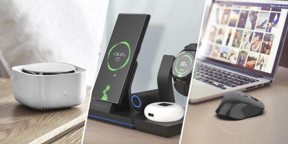 Находки AliExpress: беспроводное зарядное устройство, смартфон и подушка с держателем для телефона