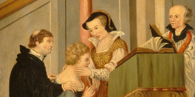 Как жили в Средневековье: монархам приходилось трогать больных