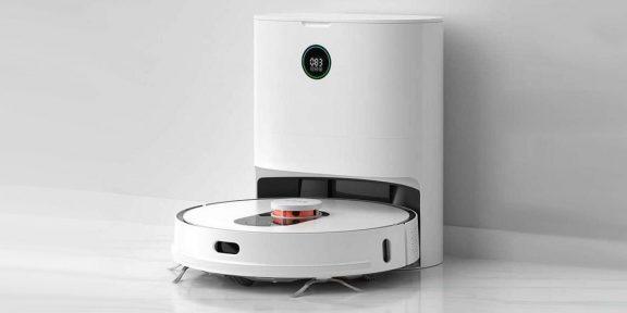 Выгодно: робот-пылесос Roidmi EVE Plus с функцией самоочистки за 25499 рублей