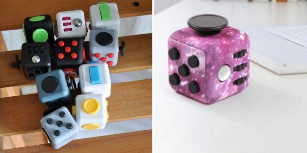 Игрушки-антистресс: фиджет-куб