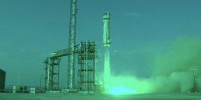 Джефф Безос совершил успешный туристический полёт в космос на корабле New Shepard