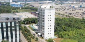В Китае построили 11-этажный дом за 28 часов. Есть видео