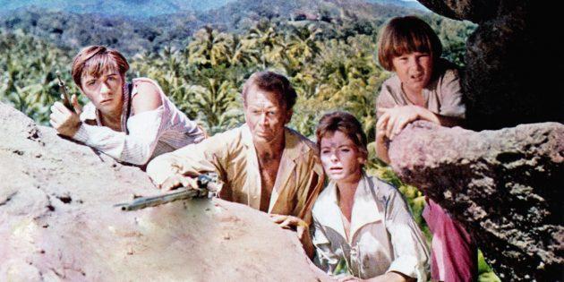 Фильмы про необитаемые острова: «Швейцарская семья Робинзонов»