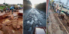 Пользователи Сети показали самые ужасные дороги: 15 фото из разных стран