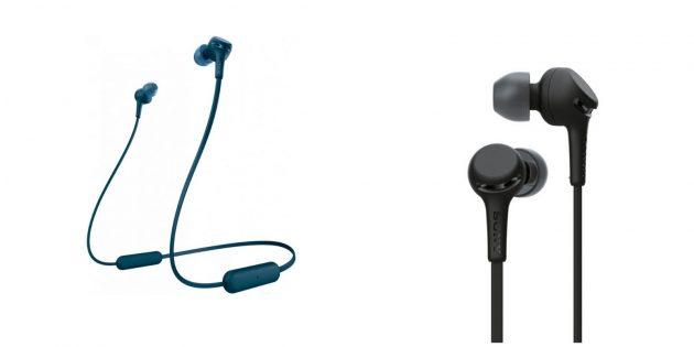 Лучшие беспроводные наушники: Sony WI-XB400