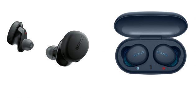 Лучшие беспроводные наушники: Sony WF-XB700